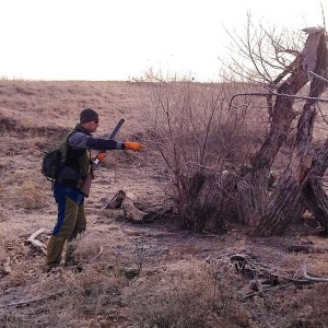 Marking birds while hunting