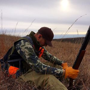 Upland bird hunting - giving thanks in the field