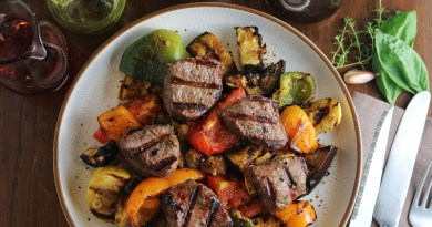 Grilled Venison Ratatouille