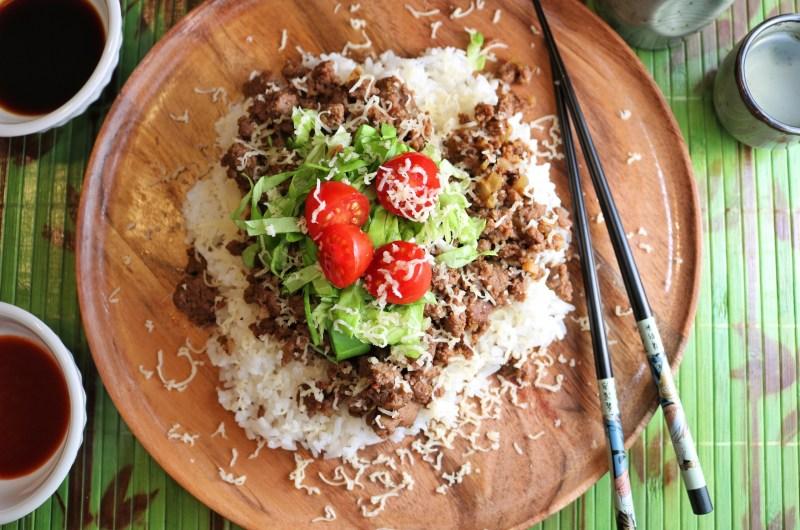 Venison Taco Rice