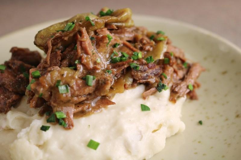 The Best Venison Mississippi Pot Roast