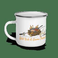 Wild Fish and Game Podcast Enamel Mug