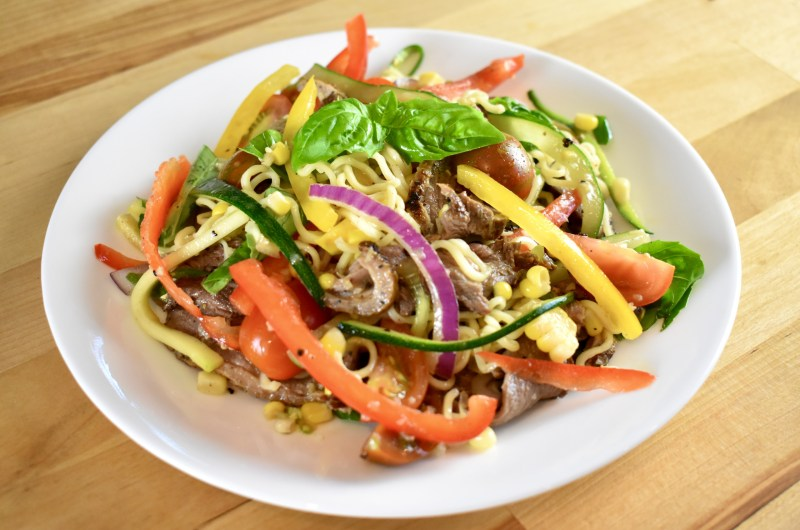Summery Noodle Salad with Canada Goose