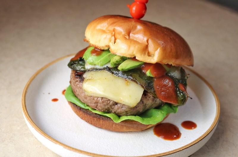 Spicy Southwest Chili Antelope Burger
