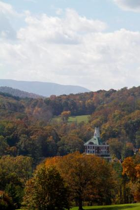 Fall colors in the county where I spent my high school years