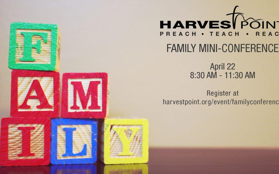 Family Mini-Conference
