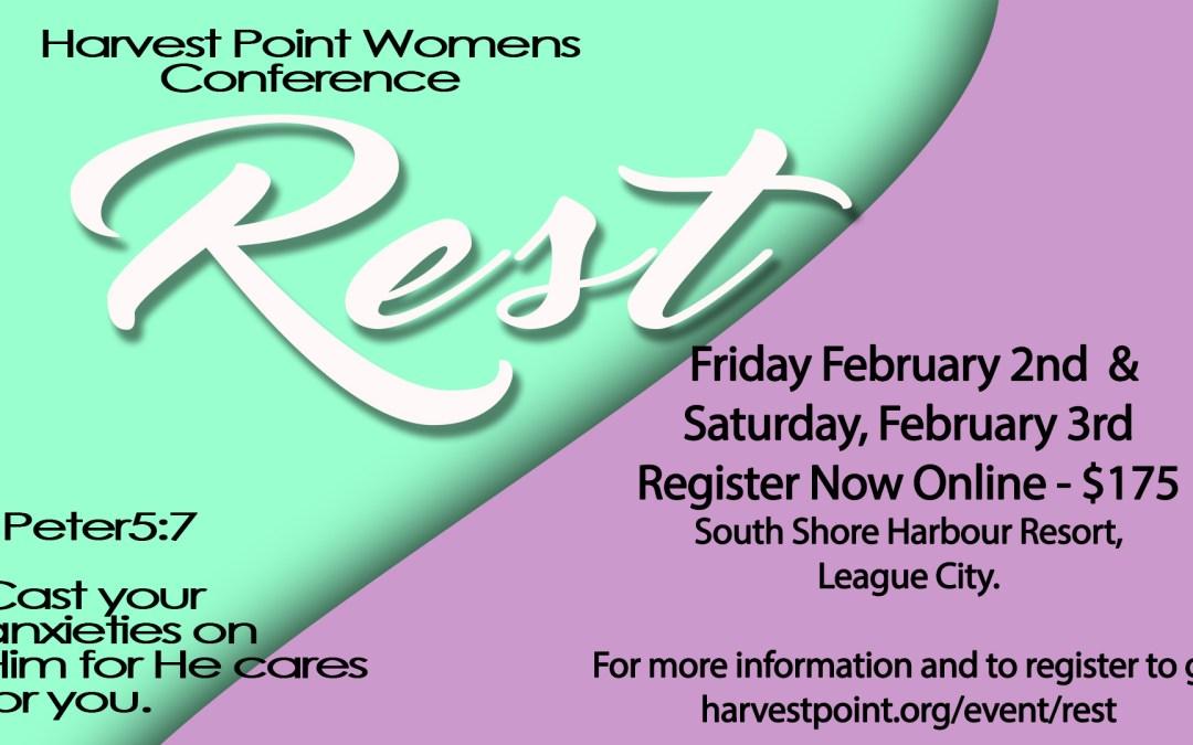 Women's Retreat: Rest