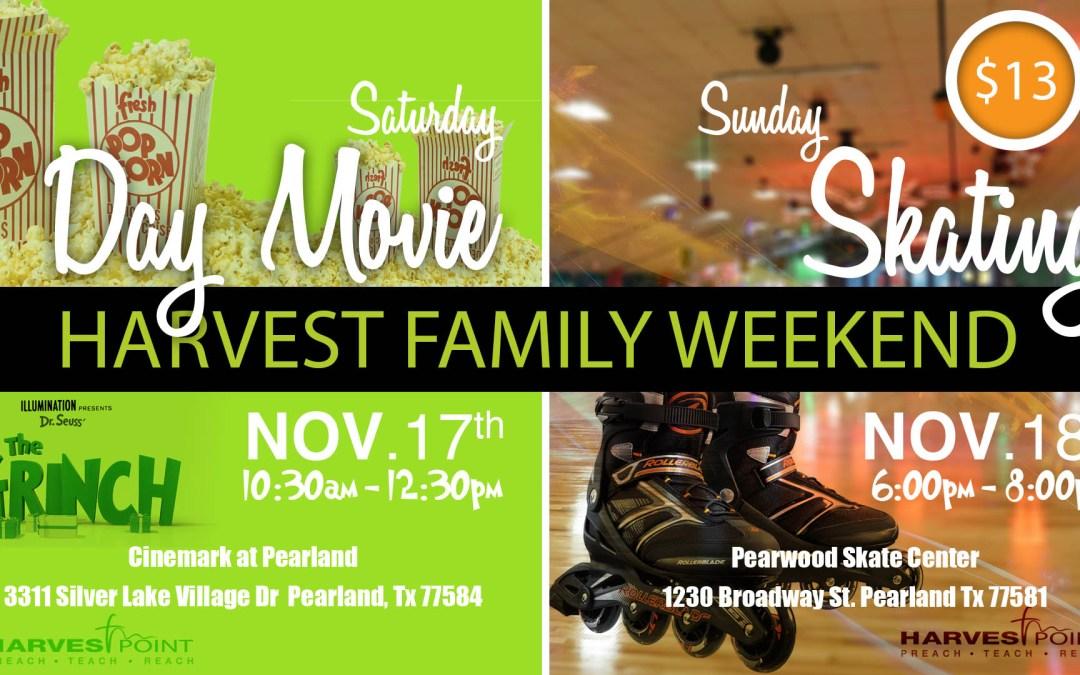 Harvest Family Weekend