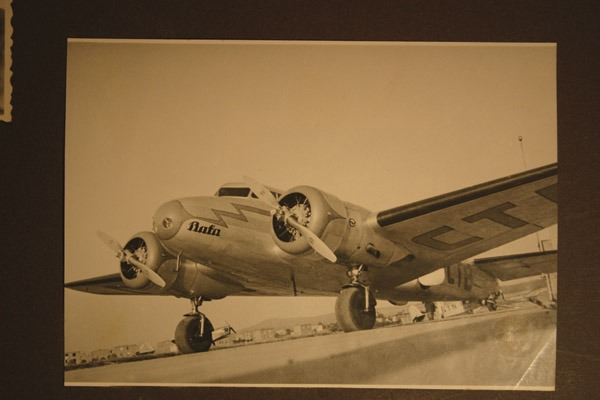 Shown is the photo of the original Lockheed Electra 10A. Wichita Air Services is currently restoring the aircraft to it?s past glory.  contributed photo
