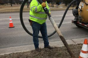 Utility worker strives to make Hesston great