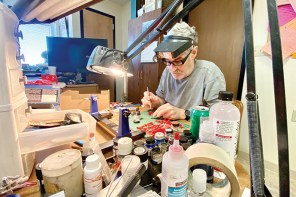 Model cars: Newton man goes down the road with hobby