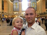 I had never been inside Grand Central, despite growing up so near.