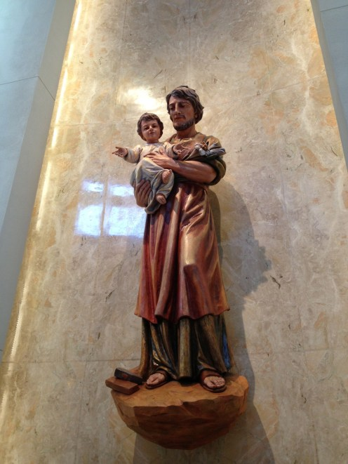 St. Joseph. I often think of him in my travails as a dad.
