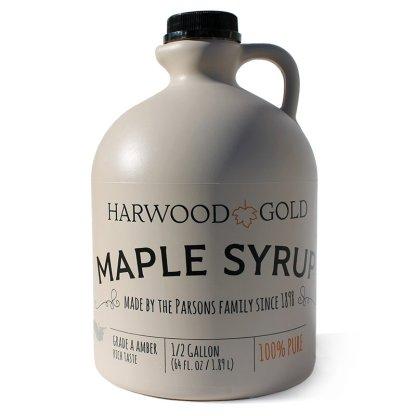Harwood Gold Half-gallon maple syrup