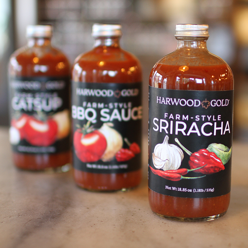 Harwood Gold Maple Sauces Tasting Flight