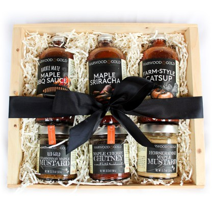 Harwood Gold Maple Grillmaster Gift Box