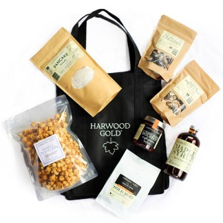 Harwood Gold Weekender Gift Box