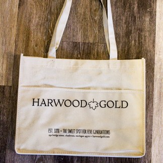 Harwood Gold Bag