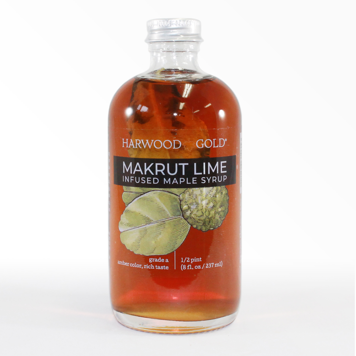 Makrut Lime Maple Syrup Infusion