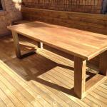 Harwood Menuisier table bois recyclé