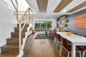 Harwood Menuisier trappe plafond bois