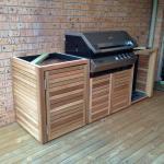 Harwood Menuisier meuble bois contemporain barbecue