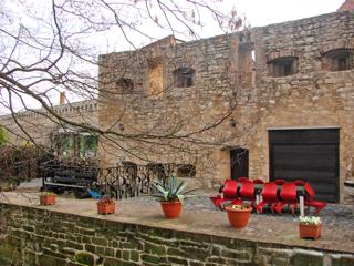 Bild: Zwinger der Stadtmauer zu Aschersleben.