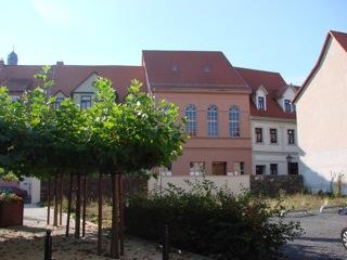 Bild: Die Synagoge in Eisleben.