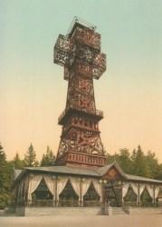 Bild: Das Josephskreuz auf dem Auerberg bei Stolberg im Harz. Dieses Bild ist gemeinfrei, weil seine urheberrechtliche Schutzfrist abgelaufen ist.