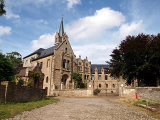 Bild: Das Schloss zu Beyernaumburg.