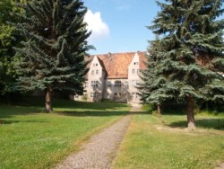 Bild: Das Schloss zu Ermsleben.