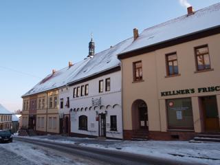 Bild: Einer der ältesten Gasthöfe Deutschlands - Das Gasthaus zur Guten Quelle in Mansfeld hatte vielleicht schon zu Zeiten Martin Luthers geöffnet.