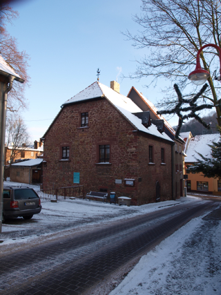 Bild: Das Lutherhaus in Mansfeld