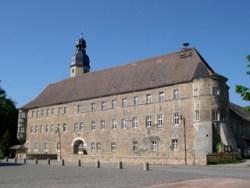 Bild: Das Schloss zu Schochwitz.