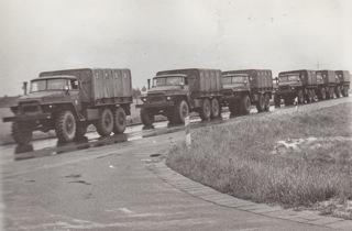 Bild: Ural 375D der Nationalen Volksarmee. Foto aus privater Sammlung 1968.