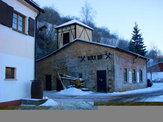 Bild: Die ehemalige Schachtanlage und heutiges Besucherbergwerk DREI KRONEN UND EHRT bei Elbingerode im Harz.