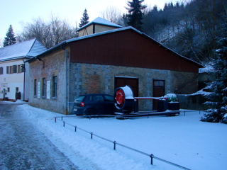 Bild: Impressionen von der Außenanlage des Besucherbergwerkes DREI KRONEN UND EHRT bei Elbingerode im Harz.