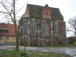 Bild: Impressionen von der Templerkapelle zu Mücheln bei Wettin.