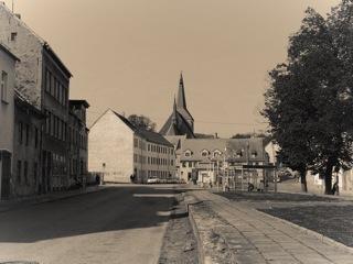 Bild: Die Lutherstadt Eisleben ist der Geburtsort des Ritterkreuzträgers Otto Bösel. Aufnahme aus dem Jahr 2010.