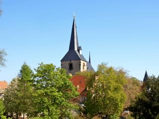 Bild: Die Kirche St. Nikolai zu Eisleben. Hier wirkte Johannes Agricola als Pfarrer.