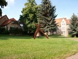 Bild: Ermsleben - heute Stadt Falkenstein im Harz - ist der Geburtsort des Dichters Johann Wilhelm Ludwig Gleim.