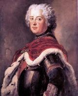 Bild: Friedrich der II. von Preußen.