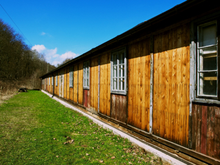 Bild: Ehemalige Tischlereibaracke des Konzentrationslagers Mittelbau-Dora.