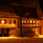Auf dem Stephanikirchhof ín Aschersleben