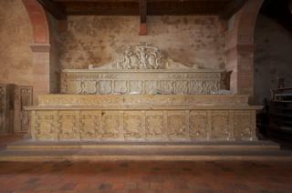 Bild: Die monumentale Grablege des Geschlechtes der Grafen von Wettin.