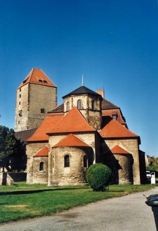 Bild: Die Kapelle der Burg zu Querfurt.