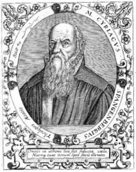 Bild: Portrait des Cyriacus Spangenberg. Dieses Bild ist gemeinfrei, weil seine urheberrechtliche Schutzfrist abgelaufen ist.