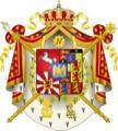 Bild: Wappen des Königreiches Westphalen.