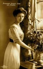 Bild: Prinzessin Viktoria Luise von Preußen.