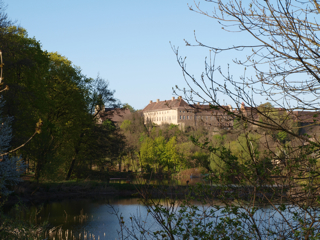 Bild: Das Gut zu Walbeck bei Hettstedt. Gleim war Kanonikus des damaligen Stiftes.